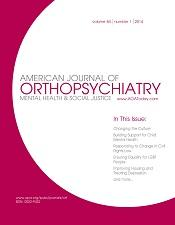 American Journal of Orthopsychiatry
